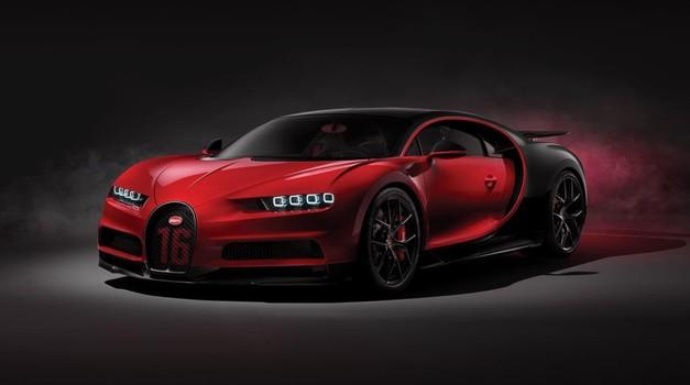 Premalno napolnjena pnevmatika? Ni problema, pri Bugattiju vam to sporočijo na daljavo (foto: Bugatti)