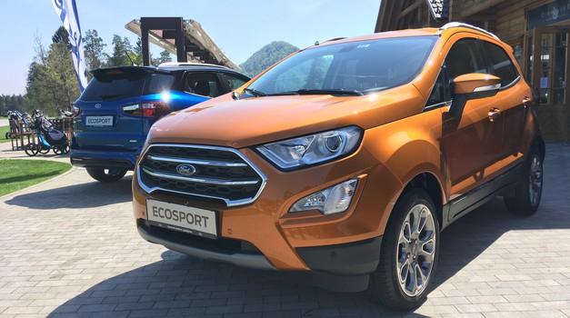 Novo v Sloveniji: Ford EcoSport (foto: Dušan Lukič)