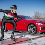Video: Jaguar XE 300 Sport je najhitrejši na ledu (foto: Newspress)