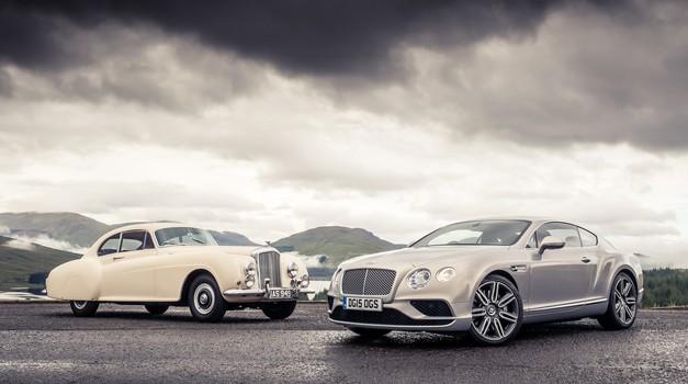 Zgodovina: Bentley – 100 let odvisnosti od hitrosti (foto: Bentley)