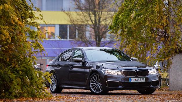 Na kratko: BMW M550d (foto: Saša Kapetanovič)