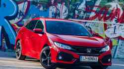 Kratki test: Honda Civic 1.0 Turbo Elegance