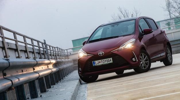 Kratki test: Toyota Yaris 1.5 VVT-iE BiTone Red (foto: Saša Kapetanovič)