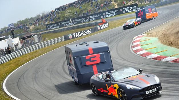 Video: Red Bull na Nizozemskem pripravil uničujočo dirko prikolic (foto: Red Bull)