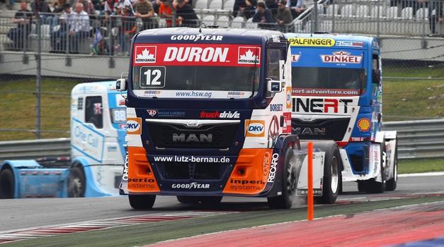 Bi želeli dostavljati dirkalne gume na dirke tovornjakov? (foto: Goodyear)