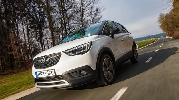 Kratki test: Opel Crossland X 1.6 CDTI Ecotec Innovation (foto: Saša Kapetanovič)