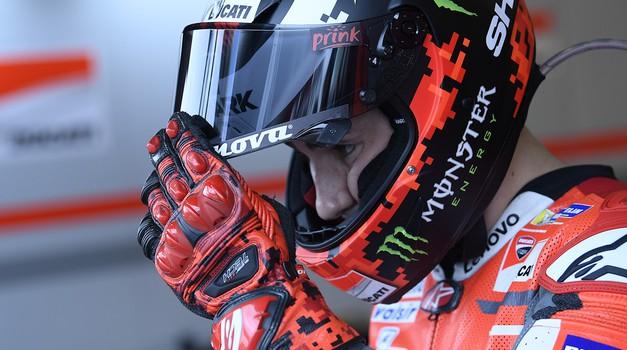 Tudi to je zdaj uradno: Jorge Lorenzo bo dirkal na Hondi (foto: Monster Energy)