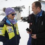 Z Ilko na treningu (foto: Aleš Bravničar)
