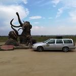 Branko Krajnc z Volvom V70 do Vladivostoka: »V avtu sem bil kot doma pred televizijo.« (foto: Branko Krajnc)