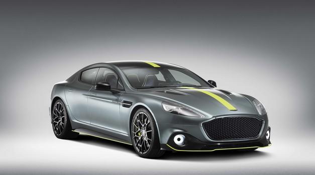 Aston Martin Rapide AMR je najhitrejša Aston Martinova limuzina do zdaj (foto: Newspress)
