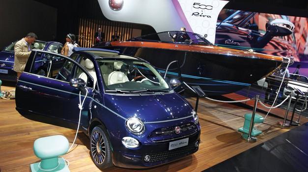 Koncern FCA odpovedal udeležbo na avtomobilskem salonu v Parizu (foto: Saša Kapetanovič)