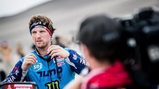 S Tino čez bankino #22: Adrien Van Beveren o favoritih Dakarja 2019 in vikend paketu pri Rossiju (foto: Yamalube Yamaha images)