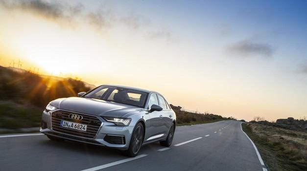 Novi Audi A6 je že peta generacija šestice (foto: Audi)