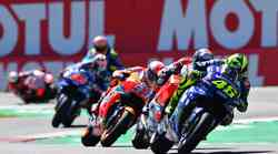 MotoGP, VN Nizozemske: prerivanja, stotnike in milimetri