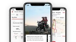 Ducatiji so postali družabni, z aplikacijo Ducati Link App lahko celo nastavljate motocikel