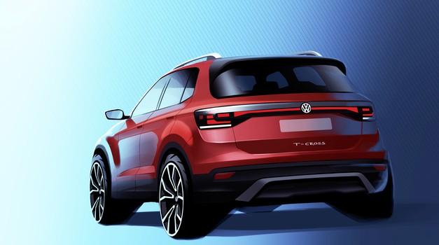 Po Volkswagnu T-Rocu prihaja še T-Cross (foto: Volkswagen)