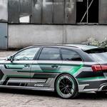 ABT je Audija RS6 predelal v hibridno cestno zverino ABT RS6-E (foto: ABT Sportsline)