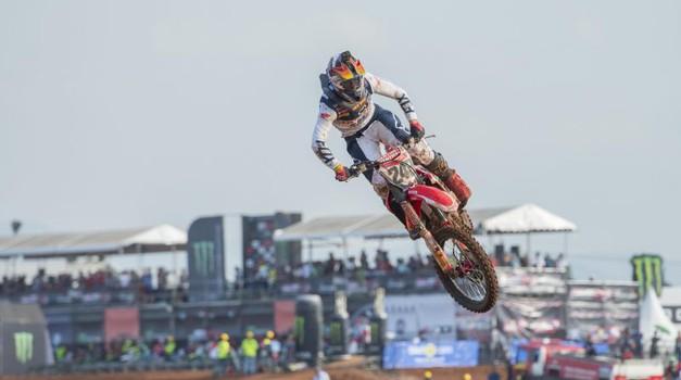 MXGP: Gajser za konec indonezijske turneje odličen drugi, Herlings nadaljeval zmagovalne nastope (foto: HRC Honda)