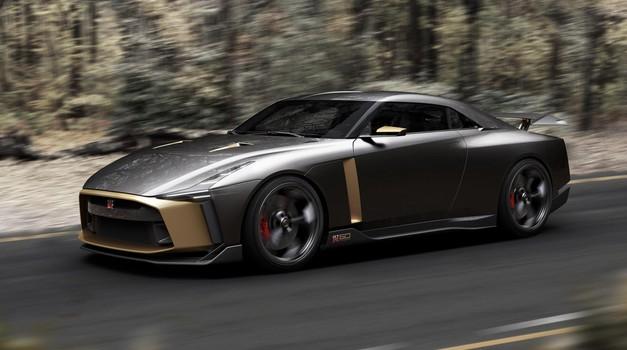 Potrjeno: Nissan GT-R50 by Italdesign bo šel v maloserijsko proizvodnjo (foto: Nissan)