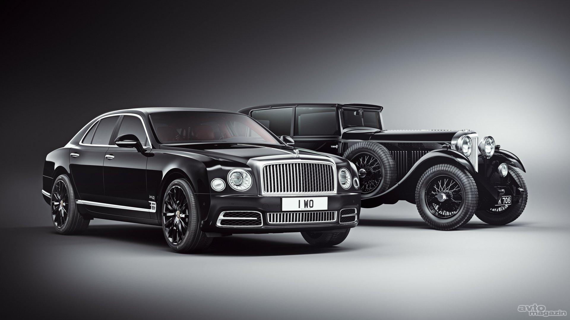 Bentley se s posebno serijo Mulsanna spominja svojega ustanovitelja