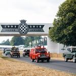 Land Rover je v Goodwoodu z veliko parado proslavil svojo 70-letnico (foto: Jaguar Land Rover)