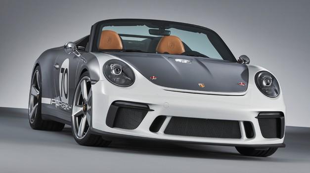 Porsche 911 Speedster prihaja prihodnje leto, a v omejenih količinah (foto: Porsche)