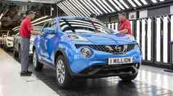 Nissan je v Angliji izdelal milijon Jukov