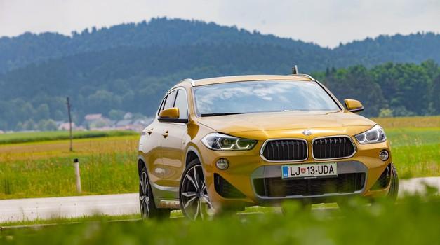 Test: BMW X2 xDrive 25d M Sport X (foto: Saša Kapetanovič)