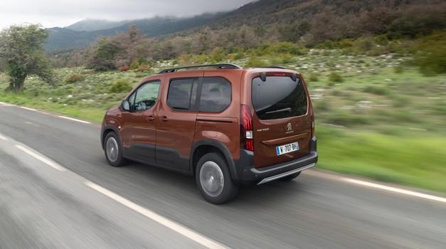 Peugeot se z Rifterjem odpravlja na novo pot (foto: Peugeot)