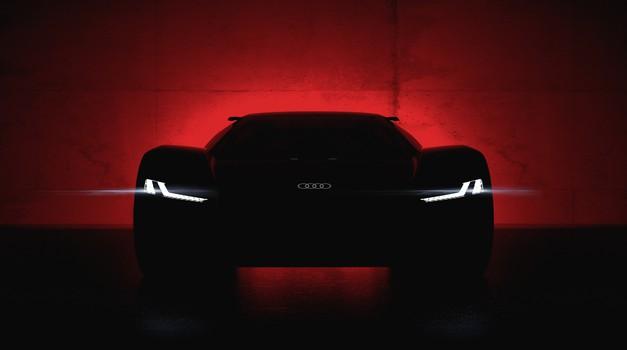 Audi PB18 e-tron daje slutiti, kakšen bo električni naslednik modela R8 (foto: Newspress)