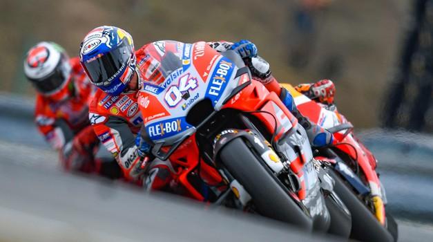 MotoGP VN Češke, Brno: Dovizioso zmagal v češkem peklu (foto: Dorna, Michelin, Primož Jurman)