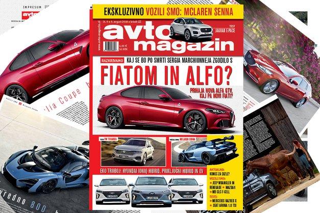 Izšel je novi Avto magazin! Testi: Jaguar E-Pace, VW Touareg, Mercedes razred X (foto: mj)