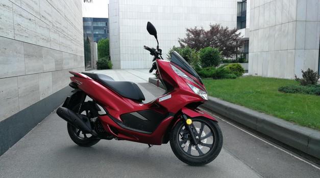 Test: Honda PCX 125 (foto: Matjaž Tomažič)