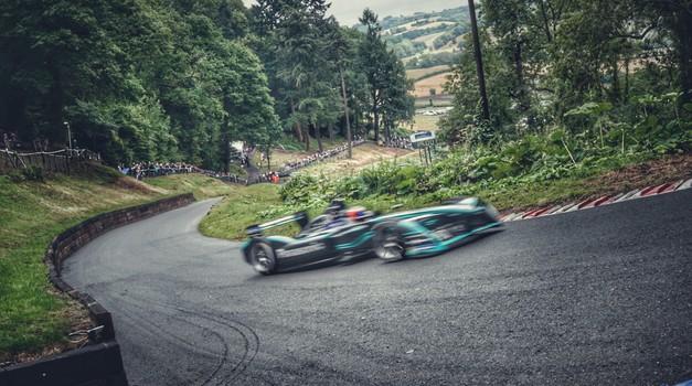 Formula E je postavila novi električni rekord na znameniti gorski dirki Shelsley Walsh (foto: Jaguar Land Rover)