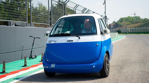 Nova Isetta prihaja konec leta, za pogon bo skrbela elektrika (foto: Micro Mobility Systems AG)