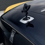 Rolls-Royceev kipec je postal črn (foto: Rolls-Royce)