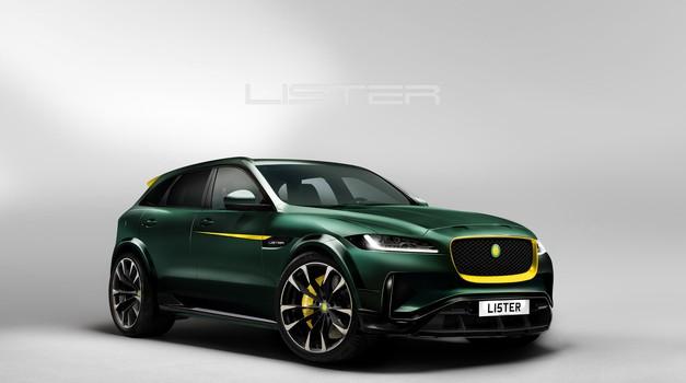 Lister LFP bo postal najhitrejši SUV na svetu (foto: Newspress)