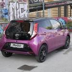 Aygo by Toyota je osvežen pripeljal v Slovenijo (foto: Matija Janežič)