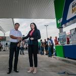OMV Slovenija je na Ptuju odprl svoj 107. bencinski servis (foto: OMV Slovenija)