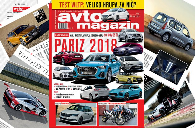 Izšel je novi Avto magazin! Testi: Nissan Leaf, Renault Megane R.S., Citroen Grand C4 Space Tourer, Suzuki XS4 S-Cross (foto: MJ)