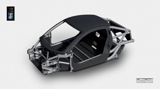 Gordon Murray predstavlja revolucijo na področju snovanja avtomobilskih šasij (foto: Gordon Murray Design)