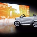 Smart praznuje 20-letnico s študijo ekstrovertiranega električnega kabrioleta (foto: Smart)