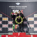 Fantje, priklonite se: svetovna prvakinja v razredu SSP300 je Ana Carrasco! (foto: Kawasaki)