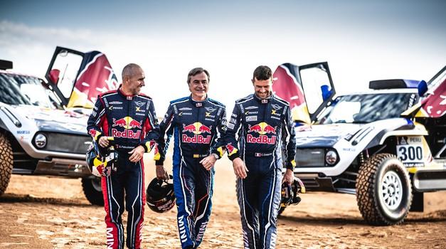 Red Bull in Mini na Dakar 2019 s trojico legendarnih dirkačev (foto: X-raid)