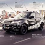 Range Rover Sport je avtonomno premagal coventryjsko obvoznico (foto: Jaguar Land Rover)