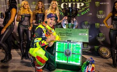 Monster Energy Cup: Lahko kdo Las Vegas zapusti za milijon evrov bogatejši? (video)