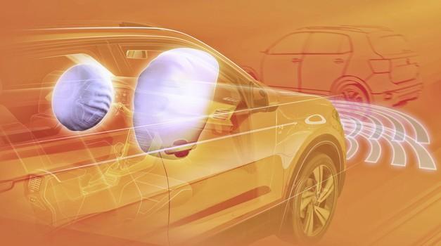Volkswagen T-Cross sporoča: Jaz sem varen (foto: VW)