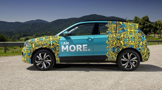 Video: Volkswagen T-Cross prvič brez kamuflažne folije* (foto: Arhiv AM)