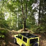 Namen Suzukija Jimnyja ostaja jasen in nespremenjen (foto: Suzuki)