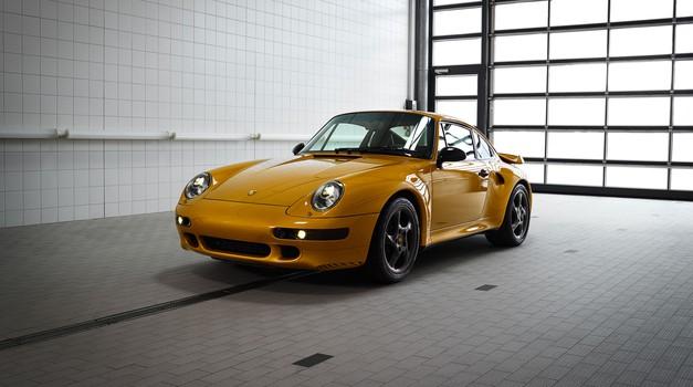 Več kot 2,7 milijona evrov za zadnjega izdelanega Porscheja 993 Turbo S (foto: Porsche)